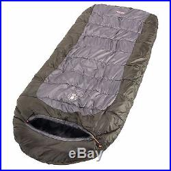 COLEMAN SLEEPING BAG Extreme Weather Camping Hiking Backpacking Gear Big &Tall