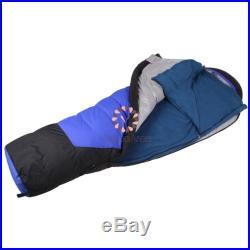 Camping Outdoor Polar Fleece Sleeping Bag Travel Hiking Lightweight Portable