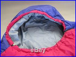 Caribou Mountaineering Blue Moon Reg Sleeping Bag Backpacking Camping VGC w Sack
