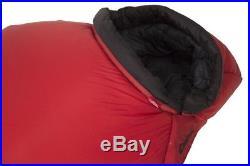 Carinthia G 490x Schlafsack Expeditionsschlafsack Größe L Kunstfaser rot wassera