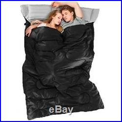 Cold Weather Sleeping Bag f 0 Degree 2 Person Two Double For Adults Backpack NEW