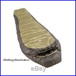Coleman 0 Degree Insulated Mummy Sleeping Bag Hiking Camping Cold Weather