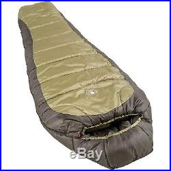 Coleman 0 Degree Sleeping Bag, North Rim, Camping, Zipper, Mummy, Outdoor