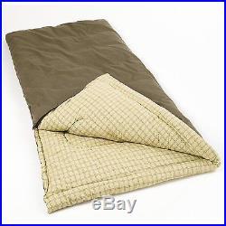 Coleman Big Game -5 Degree Big and Tall Sleeping Bag Camping Hiking Mountain