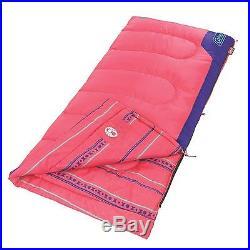 Coleman Kid's 50 Degree Sleeping Bag Pink