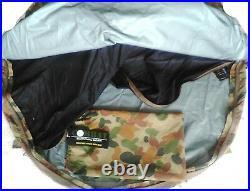 Csg Auscam Bivy Bag 3 Layer + Alloy Head Pole, Mosquito Net 235x110x80cm
