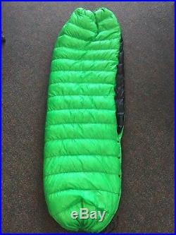 Down Top Quilt ultralight Sleeping Bag Green