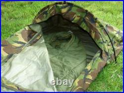 Dutch Army Hooped Bivvy Bag XL Gore Tex Type Camouflage Bivy Camo Bivi Long