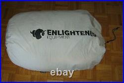 ENLIGHTENED Equipment Enigma 950DT Regular Black Sleeping Bag