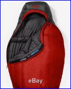Eddie Bauer Kara Koram 20° StormDown Sleeping Bag (Long) Dk Lava ON
