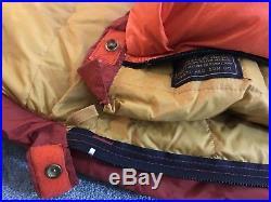 Eddie Bauer Kora Koran -30 F goose down sleeping bag used