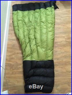 Enlightened Equipment Enigma Top Quilt 40°F Green (Size Short, Slim)