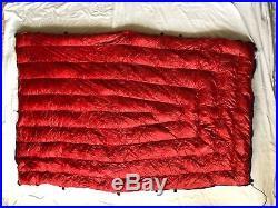 Enlightened Equipment Revelation 30 down backpacking quilt ultralight