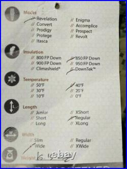 Enlightened Equipment Revelation 40 Degree 850 FP Downtek Down Quilt Ultralight