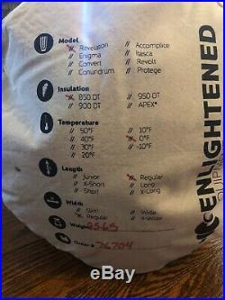 Enlightened Equipment Revelation Treated Down Quilt 0F Regular