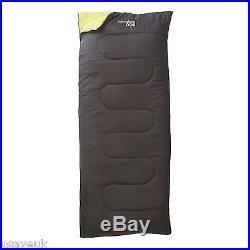 Envelope Lightweight Camping Sleeping Bag Black