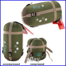 Envelope Outdoor Single Sleeping Bag Camping Travel Hiking Ultra-light Fleabag