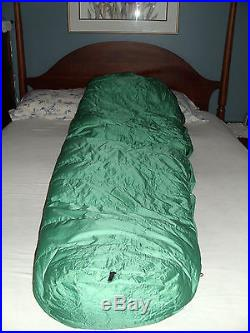 FEATHERED FRIENDS Expedition Goose Down Gore-Tex Sleeping Bag SNOWBUNTING EUC