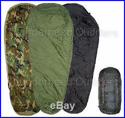 Fair 4 Piece Modular Sleep System MSS USGI Military Sleeping Bags with Bivy ACC