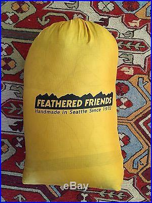 Feathered Friends Flicker 20 UL 850-fill down ultralight sleeping bag