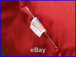 Feathered Friends KESTREL Red/Black 30-F -1.1-C Sleeping Bag