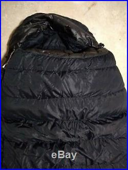Feathered Friends Long -40 F Down Filled Winter/Expedition Sleeping Bag