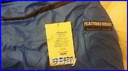 Feathered Friends Mountaineering Widgeon EX -10F Down Sleeping Bag LONG Western