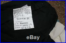 Feathered Friends PUFFIN III 700 Fill Sleeping Bag Long LZ NEVER USED