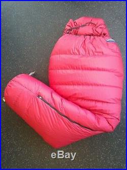 Feathered Friends Ptarmigan EX -25 Sleeping Bag Regular, Red