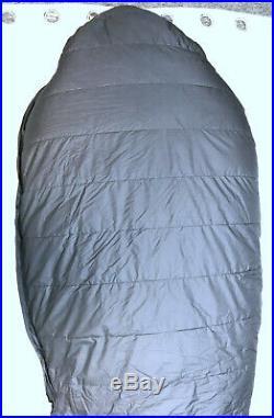 Feathered Friends Snow Goose EX -40 Long Sleeping Bag Black