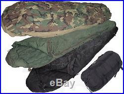 GENUINE US MILITARY ISSUE 4 Piece Modular Sleeping Bag Sleep SystemLN