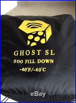 GHOST -40° F/-40°C Down Sleeping Bag Mountain Hardwear NWT