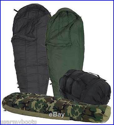GORETEX 4 PC. MODULAR MILITARY SLEEPING BAG SYSTEM, INTERMEDIATE, PATROL, BIVY, USA