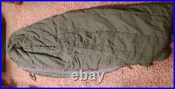Genuine U. S. Military Extreme Cold Weather Down Sleeping Bag