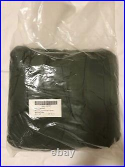 Genuine Us Military Od Green Patrol Bag Component Of 4pcs. Woodland Camo Gortex