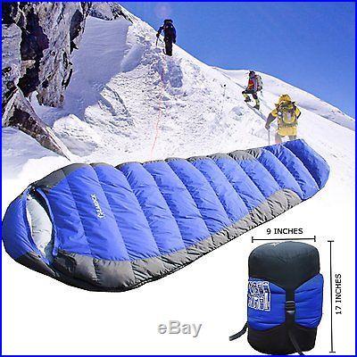 Go Camping. -22/25/30-degree Sleeping Bag, Eiderdown Sleeping Bag Against Extrem