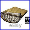Grizzly 2-person +0-degree Canvas Sleeping Bag