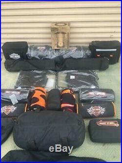 Harley-Davidson® Bar /& Shield 3-Seasons Camping Sleeping Bag HDL-10016