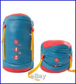 HIGHROCK Adult Outdoor Camping Hiking 1423F Winter Mummy Duck Down Sleeping Bag