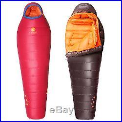 HIGHROCK Adult Outdoor Camping Ultralight 5F14F Winter Duck Down Sleeping Bag