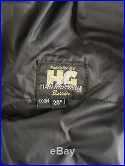 Hammock Gear Burro Econ 20 Backpacking Down Quilt Ultralight Reg Length Wide