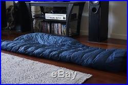 Hammock Gear Burrow Econ 30 Ultralight Down Top Quilt Moroccan Blue