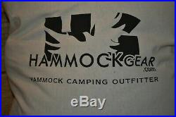 Hammock Gear Burrow Economy Zero 0 Degree Backpacking Down Quilt Military Campng