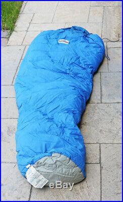 Holubar 100% Goose Down Sleeping Bag in Stuff Bag 30x86 inches Boulder Colorado