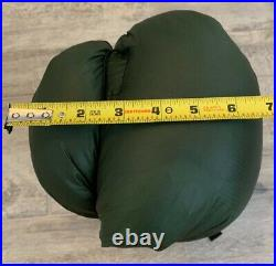 Jacks R Better Sierra Sniveller 20F Long green/black in great used shape