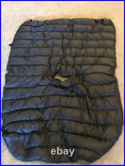 Jacks R Better Sierra Stealth down hammock quilt/topquilt regular