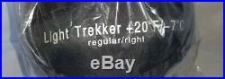 KELTY Light Trekker 20 Degree Down Fill MUMMY SLEEPING BAG Right Zip NEW