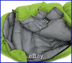 KLYMIT 20 degree SYNTHETIC SLEEPING BAG GREEN FACTORY REFURBISHED