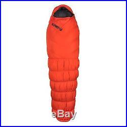 KLYMIT KSB 0 degree DOWN Sleeping Bag ORANGE with stretch baffles BRAND NEW