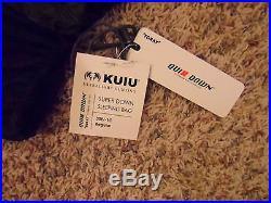 KUIU Super Down 30 degree regular length, left zipper sleping bag, NWT